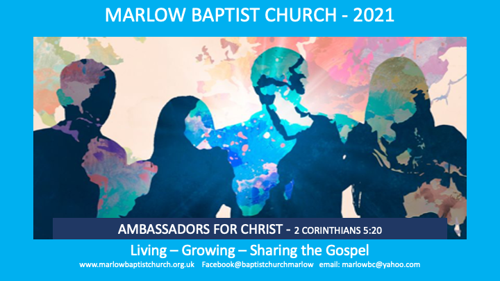 Marlow Baptist Church - Ambassadors for Christ